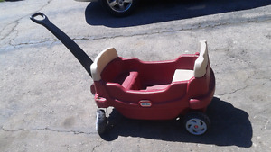 Little tikes wagon and slide