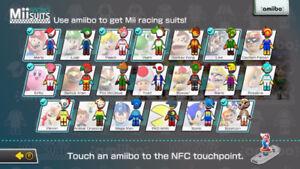 NFC Amiibo Tags Mario Kart 8 Complete Set