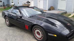 corvette 1987 toit targa