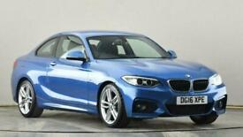 image for 2016 BMW 2 Series 218d [150] M Sport 2dr Coupe diesel Manual