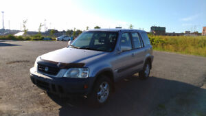 2001 Honda CRV – 190000 km, 4 Winter Tires, Great Condition!