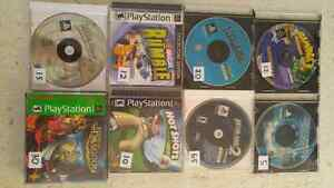 Ps1 with a bunch of games and controllers Stratford Kitchener Area image 2