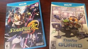 Star Fox Zero(very good cond.) + Guard(packaged) $40