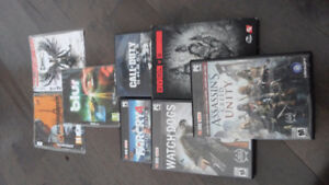 Selling a few pc games