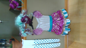 Maddy Hatter Halloween costume size 8-10