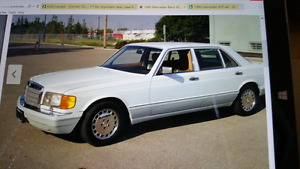 Immaculate Condition 1990 420 SEL Sedan
