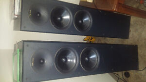 Nuance spatial 4 speakers and JVC Amp and speakers