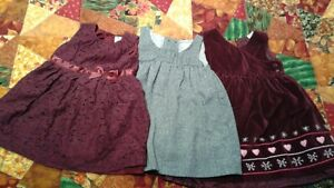 girls size 24 months dresses