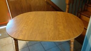 NEW OFFERING - OVAL TABLE WITH ONE LEAF