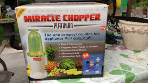 miracle chopper NEW or best offer   xxx