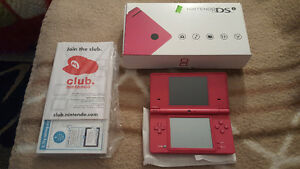 Pink Nintendo DSi System Complete with New Super Mario Bros. ++