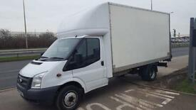 2013 63 FORD TRANSIT LUTON WITH TAIL LIFT 2.2TDCI ( 125PS ) ( EU5) ( RWD ) 350EF