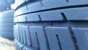 17 INCH SACCHI SUMMER TIRES AND WHEELS. Cambridge Kitchener Area image 3