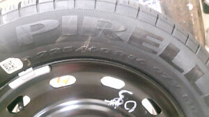 225/60/r16 brand new Steel wheel and pirelli tire
