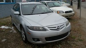 2006 mazda6  SPORT FULLY LOADED LOW PRICED  INC INSPECTION