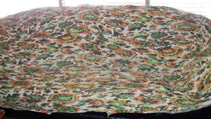 ** Retro 70's Couch, Cover & Seat Covers **
