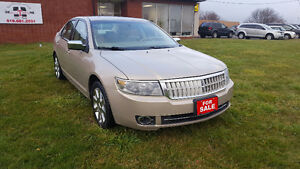 FULLY LOADED 2008 Lincoln MKZ AWD $8995 + HST PRICED TO SELL London Ontario image 4