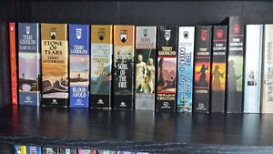 Complete Terry Goodkind 12 Book Series, NM Condition!