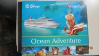 Carnival Cruise Promotional Vacation Certificate