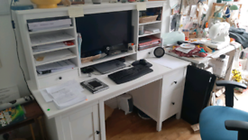 SOLD Ikea Hemnes desk
