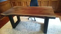 Live Edge and Reclaimed Wood Tables by All-Custom-Carpentry.com