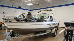 **2017** LUND REBEL 1650 XS W/ 90HP 4S