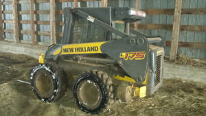 2009 L175 New Holland Skidsteer