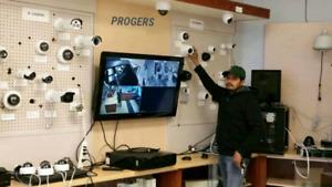 CCTV SECURITY CAMERAS INSTALLATION WWW.CAMSONICS.COM