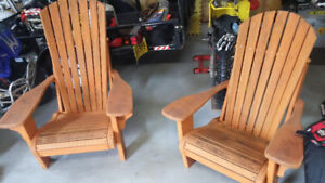 Adirondack chairs for sale!!! $120,00 for both!!! SOLD!!!!