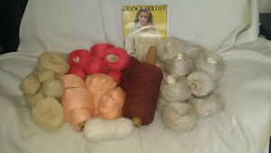 Wool, high quality, various colours - whole lot $55