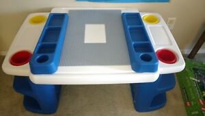 Step2 Lego learning table set and Kids bikes