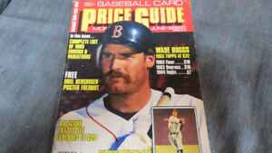 Sports Collectors Digest price guide(O.Hershiser Poster)