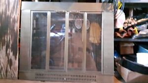 For sale fireplace glass doors and screen