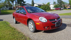 2005 Dodge Neon SX. 2.0 Sedan Low Kms