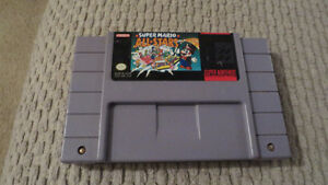 SNES nintendo Mario All Stars Game Cartridge.