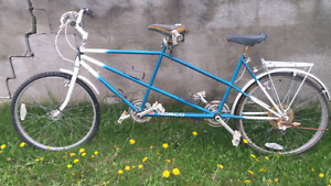 Antique Norco double seater bicycle