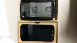 Samsung S4, unlocked, includes Otter Box