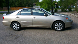 2003 Toyota Camry fully loaded