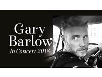 2 tickets for Gary Barlow Manchester Thursday 3rd May 2018