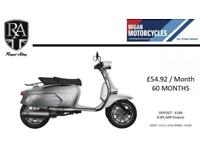 ROYAL ALLOY GP125 AIR COOLED AUTOMATIC SCOOTER DUE SOON, CALL NOW 01942 324634