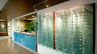 Optometry office receptionist/optometric assisstant