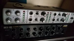 Headphones amp / boss mixer