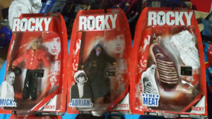 Collectible rocky figures!