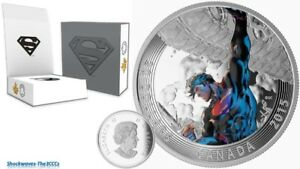 2015 Silver Iconic Comic Book Covers Superman Unchained #2 Coin