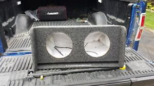 """JL Audio Slot-Ported BassWedge for 2 10"""" Subwoofers"""