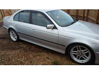 2003 BMW 525 2.5 auto i Sport M LOOKALIKE nice deep dish alloys