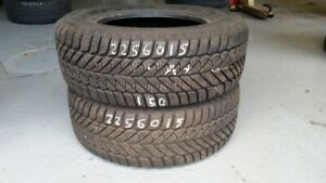 Pair of 2 Goodyear Ultra Grip Ice 225/60R15 WINTER tires (90% tr