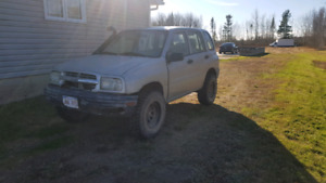 2002 tracker for parts