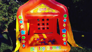 Fisher Price Bouncy Tent with Balls and Games