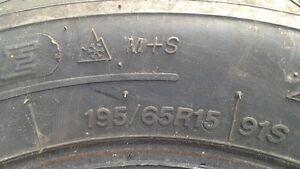 195/65r15 Winter Tire7 London Ontario image 3